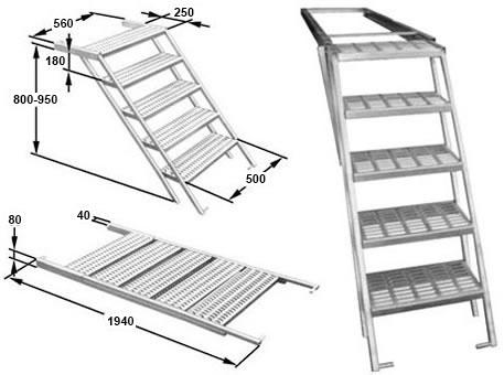 merour marchepieds escamotables. Black Bedroom Furniture Sets. Home Design Ideas